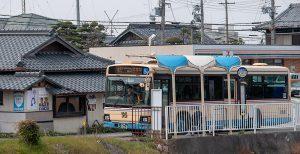 上山口バス停